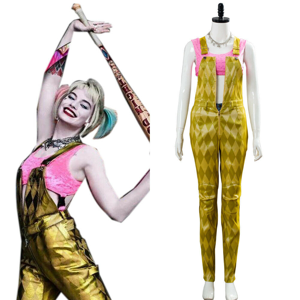 Birds Of Prey The Fantabulous Emancipation Of One Harley Quinn Uniform Costume Catchcostume