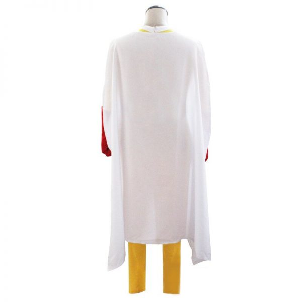 One Punch Man Cosplay Costumes Saitama Cosplay Jumpsuit Cloak Belt Gloves Full Set for Theme Party Comic Con Wear Christmas Suit