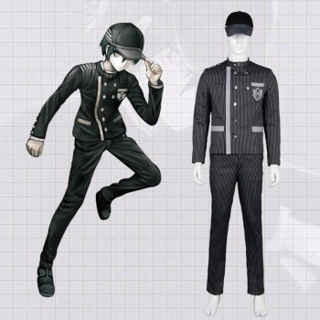 Anime Danganronpa Cosplay Saihara Shuichi Cosplay Costumes School Girls Uniform Dangan Ronpa Halloween Costumes For Men CS228