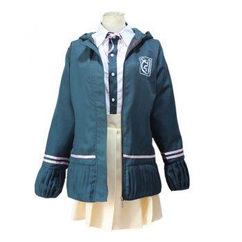 Danganronpa Dangan Ronpa Chiaki Nanami JK Uniform suit Jacket Shirt Women Cosplay Costume / Wig / Hairpin / Cat Bag
