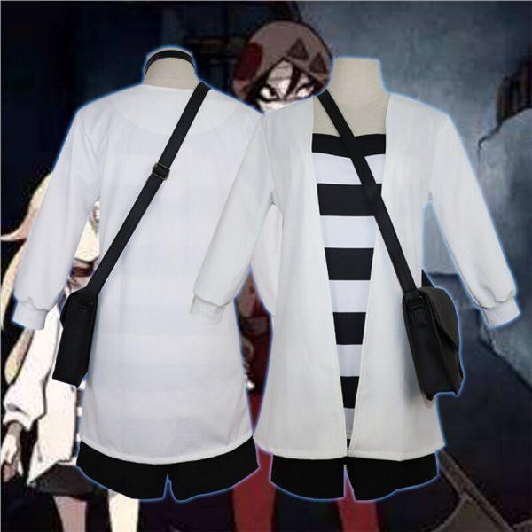 Anime Angels of Death Rachel Gardner Cosplay Costume Rachel Gardner Jacket T Shirt Shorts Japanese Kimono Ray Backpack Wig Hair