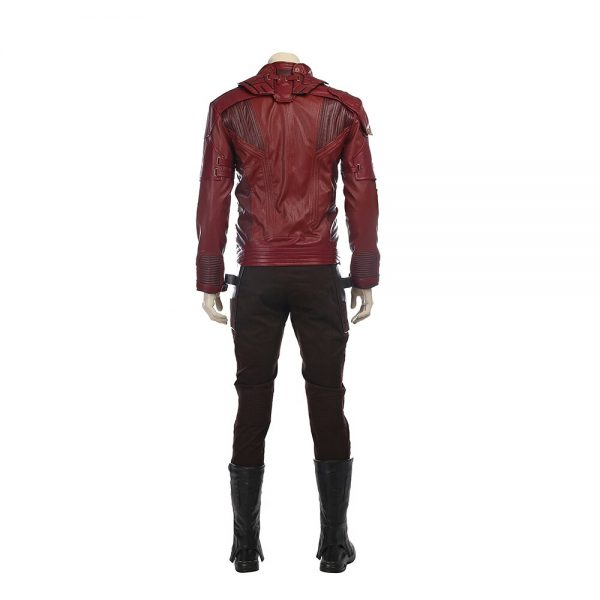 Manluyunxiao GOG 2 Cosplay Costume Star Lord Full Suit Peter Quill Jacket Cosplay Halloween Custom Made