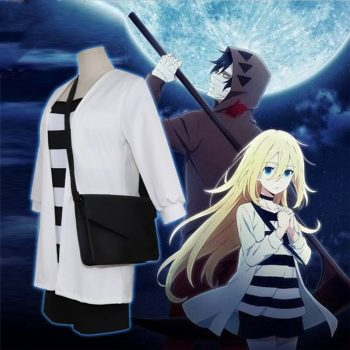 Anime Angels of Death Rachel Gardner Cosplay Costume Rachel Gardner Jacket T Shirt Shorts Japanese Kimono Ray Backpack Wig Hair