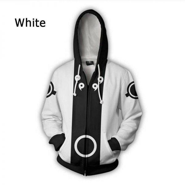 3d 打印火影忍者上衣 Cosplay 外套佐助套头卫衣连帽动漫- 显示原刊登标题