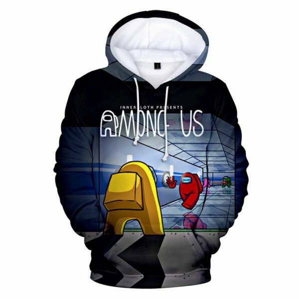 Among Us Hoodie Sweater Party Hooded Jumper Cosplay Costume Game Pullover Hoodie